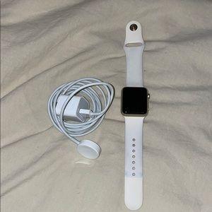 Rose gold Apple Watch 7000 series